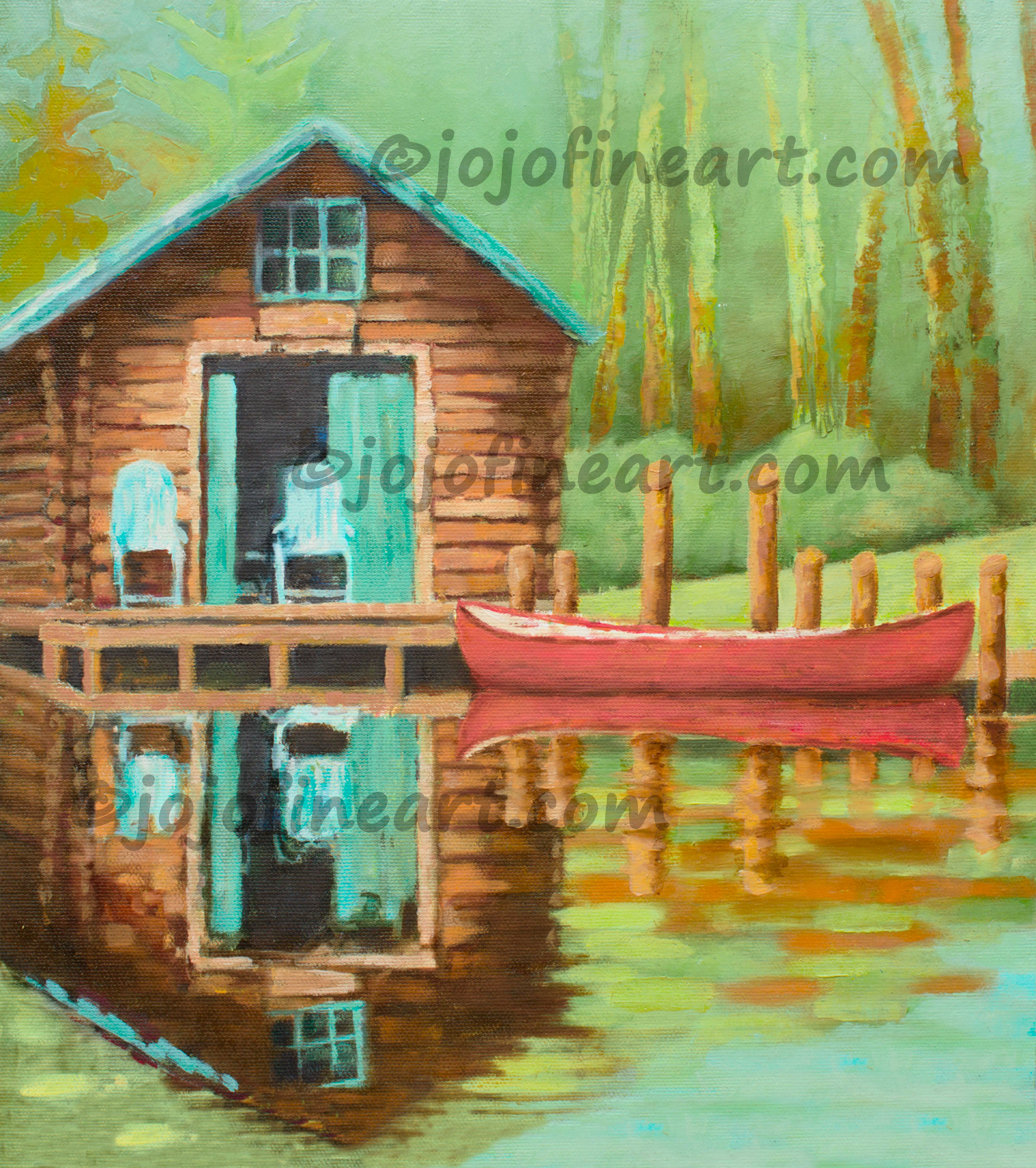 Paintings Of Areas Around Michigan That Inspire Me Art By