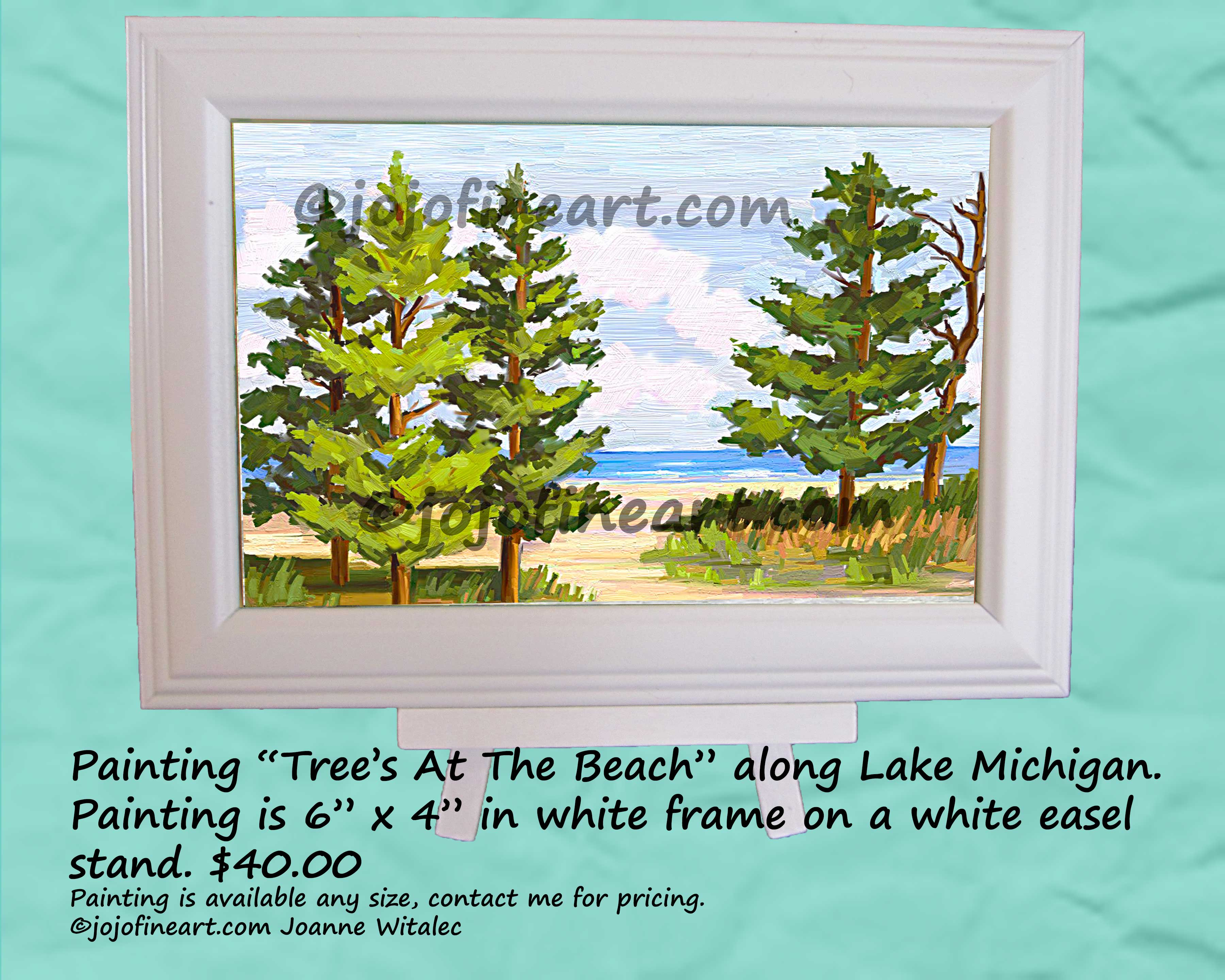 Paintings Of Area's Around Michigan That Inspire Me – Art by